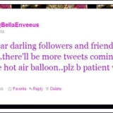 BellaEnveeus+tweet