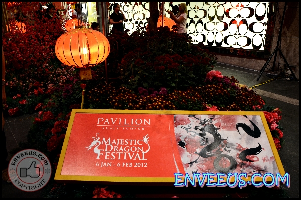 Pavilion KL Chinese New Year theme