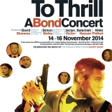 licence to thrill poster