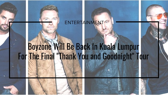 """Boyzone """"Thank You and Goodnight Farewell"""""""